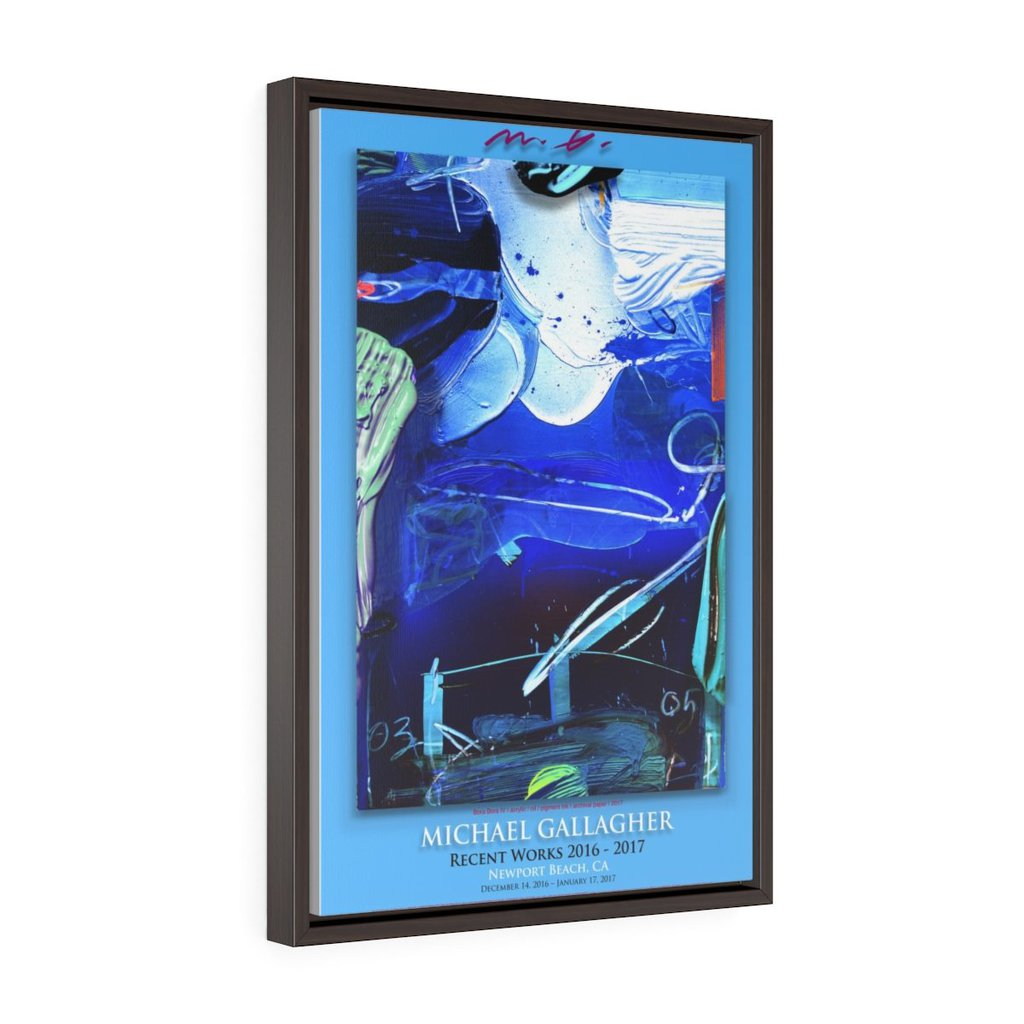 Vertical Framed Premium Gallery Wrap Canvas 3